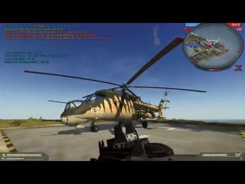 Battlefield 2 AIX 2.0 сражение с ботами