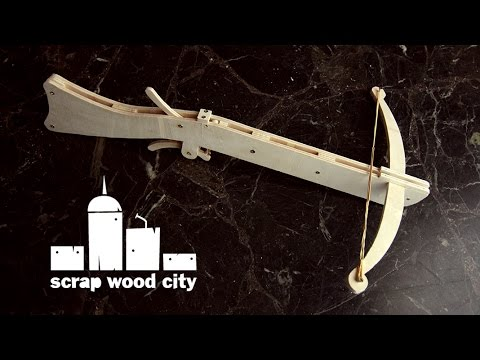 DIY plywood crossbow