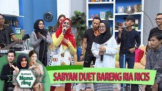 Gambar cover Keren Bgt Nih, Group Musik Sabyan Duet Bareng Ria Ricis - Rumah Mama Amy - (25/5)