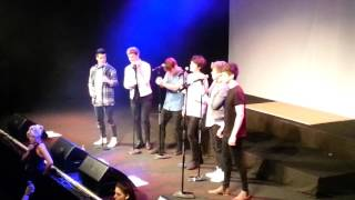 HomeTown - Hello (Adele Cover) Vicar Street 4/12/15