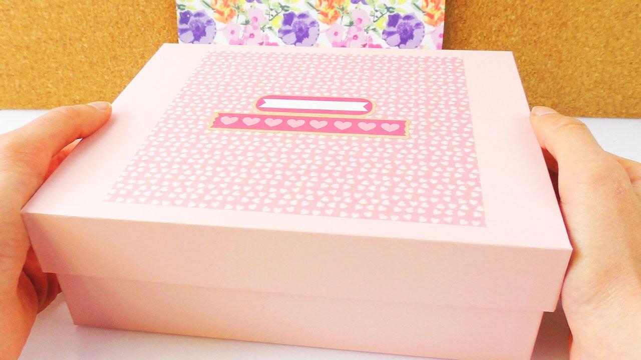 DIY Geschenkbox fr die beste Freundin  Box mit schnen