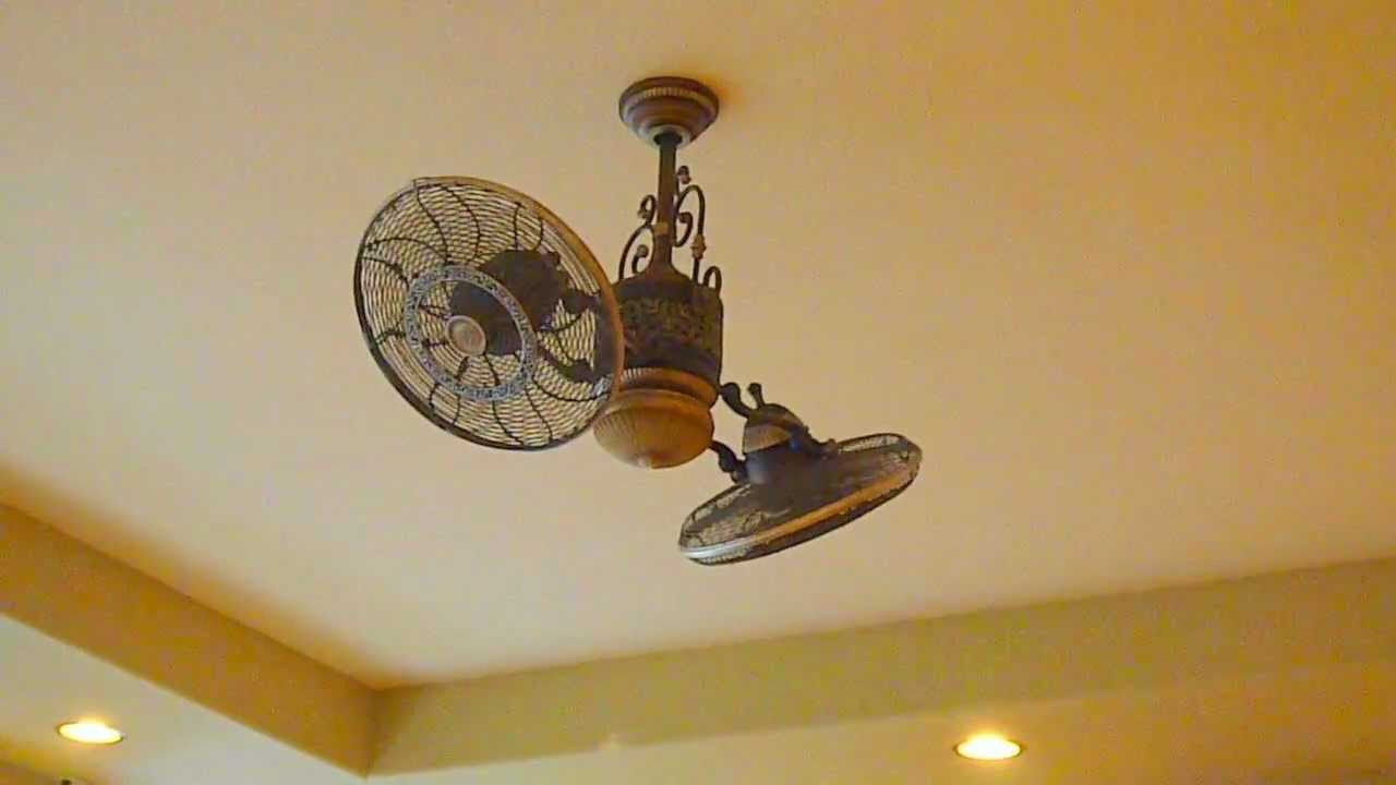 Minka aire f502 stw high performance twin turbo ceiling fan youtube mozeypictures