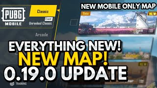 EVERYTHING *NEW* IN 0.19.0 PUBG MOBILE UPDATE! LIVIK MAP!