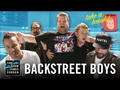 Garrett - James Corden Joins 'The Backstreet Boys'!?!