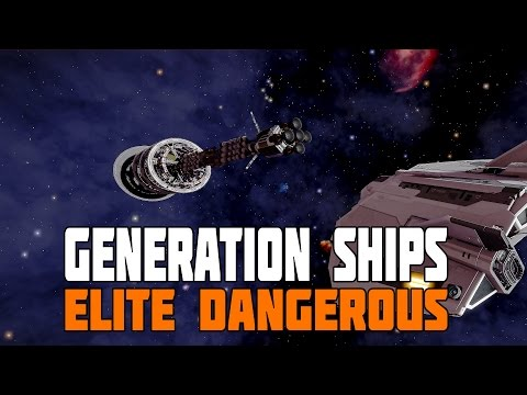 Elite Dangerous - How to find a Generation Ship