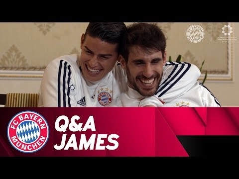Martínez crashes James Live Q&A 🇨🇴 | ReLive | FC Bayern