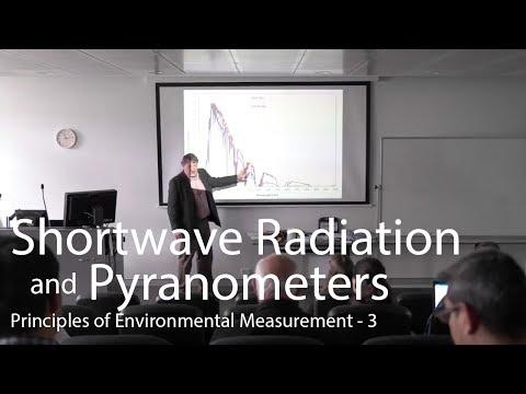 Solar Radiation and Pyranometers - Principles of Environmental Measurement Lecture 3