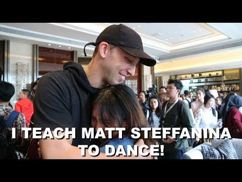MATT STEFFANINA INTERVIEW! | Message for Indonesian Dancers! streaming vf