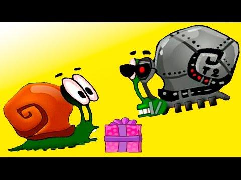 Игра Улитка Боб 4 в космосе онлайн флеш игра 1 серия