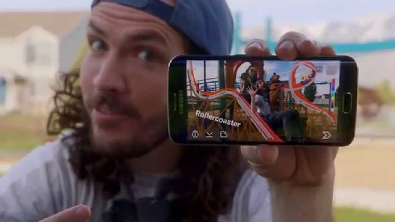 The latest Samsung Galaxy S6 edge promo videos are for