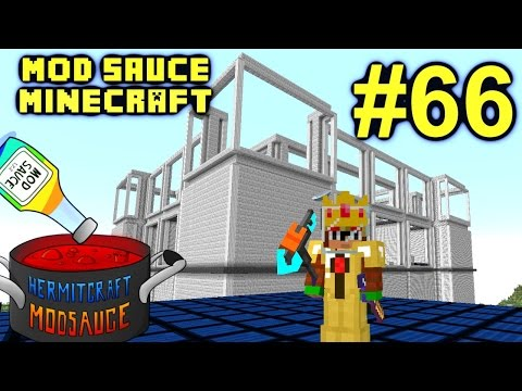 Minecraft Mod Sauce Ep. 66 - Over 9 Billion RF !!! ( HermitCraft Modded Minecraft )