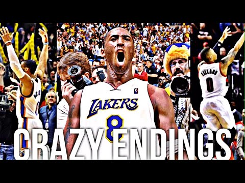 NBA Crazy Endings