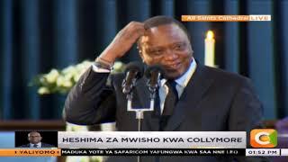 President Kenyatta's hilarious moment at Bob Collymore's memorial