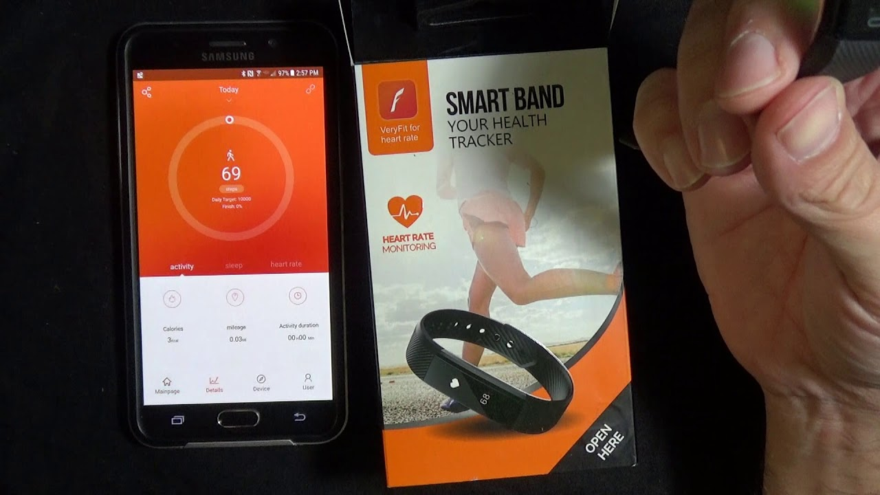 VeryFitPro Fitness Band