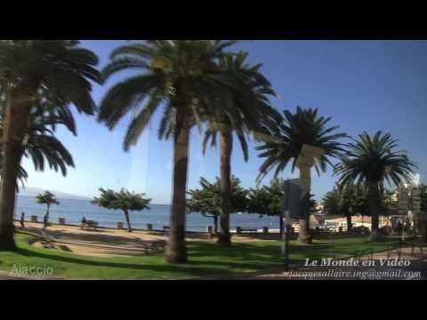 Ajaccio , Corse . Tour de ville