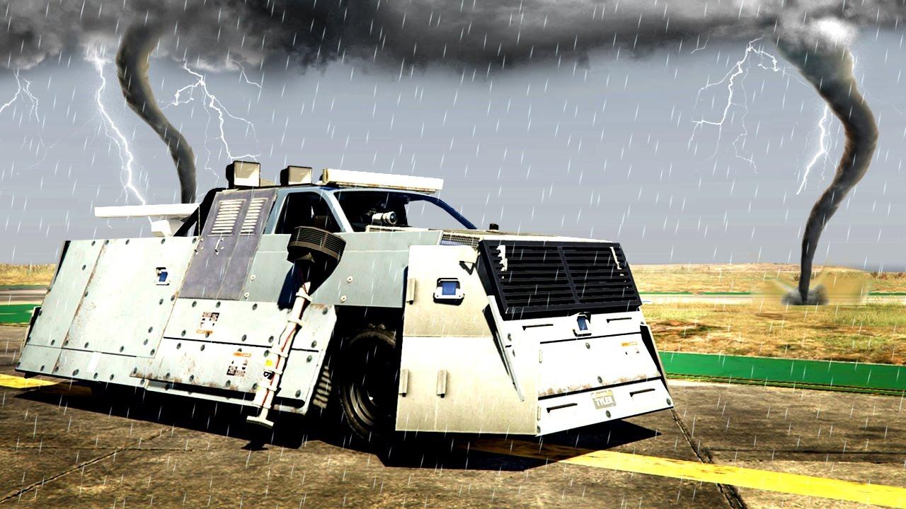 TORNADO STORMCHASER MOD! (GTA 5 Mods)