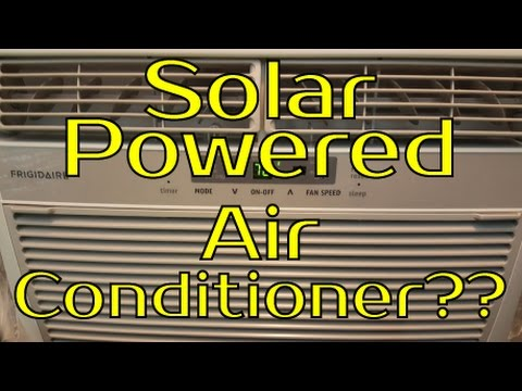 Air Conditioning with Off Grid Solar