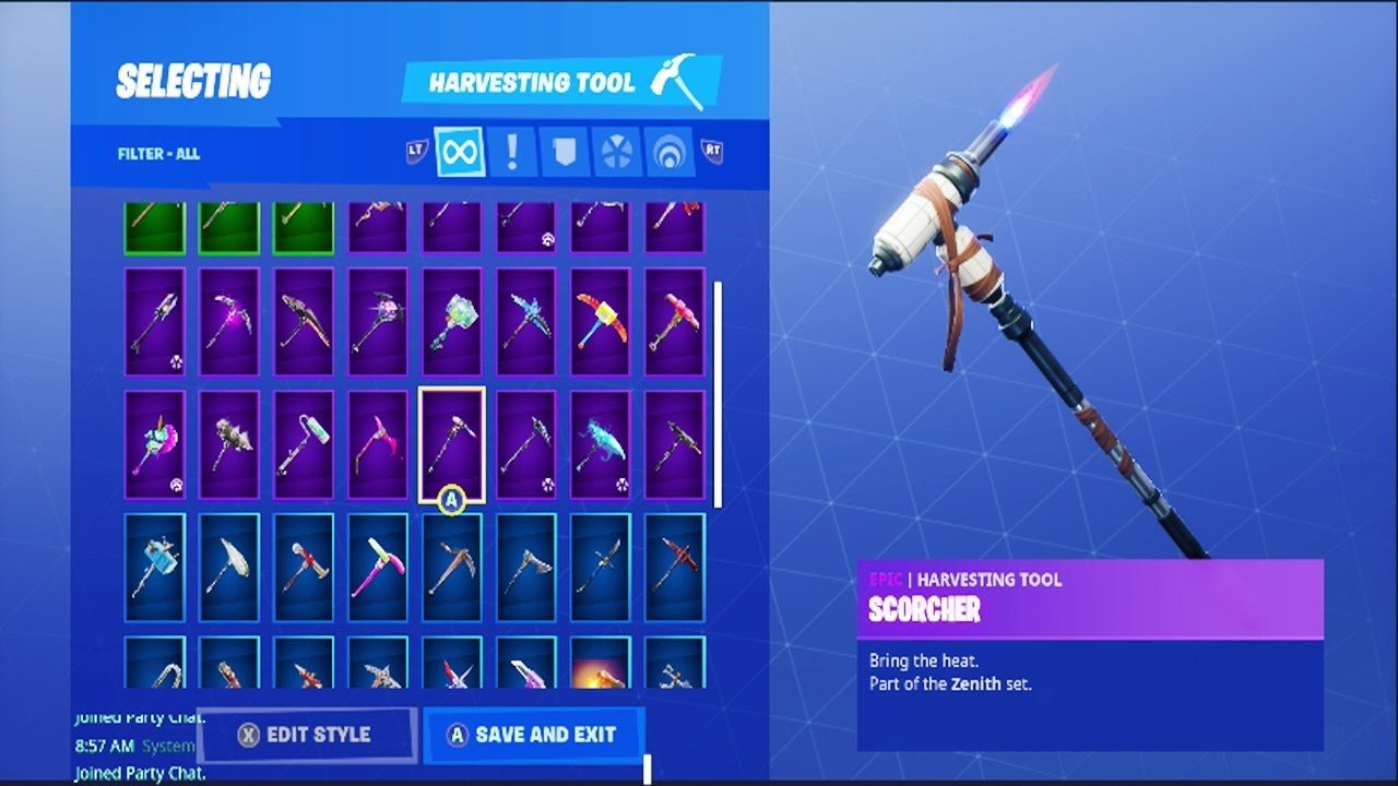 Scorcher Pickaxe