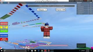 How to glitch to be at stage 945 on Roblox