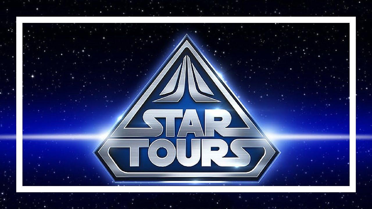 Star Tours Ride Disney World Youtube