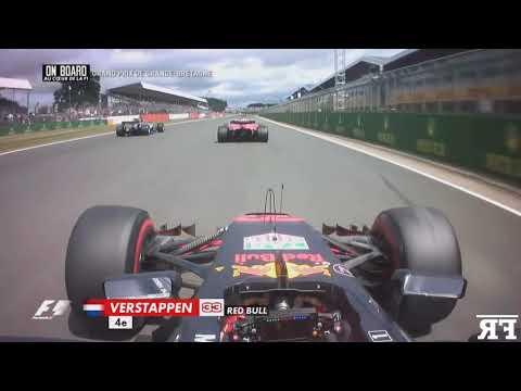 F1 2017 - Max Verstappen onboard start compilation