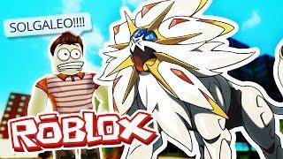 Roblox Adventures / Pokemon GO / FINDING SOLGALEO!