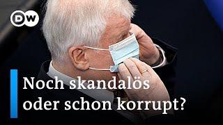 Korruptionsaffäre bei CDU/CSU – Kein Ende in Sicht
