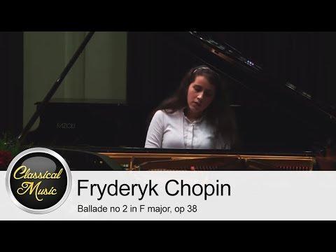 Frederic Chopin - Ballade no 2 in F major, op 38 | Michelle Candotti