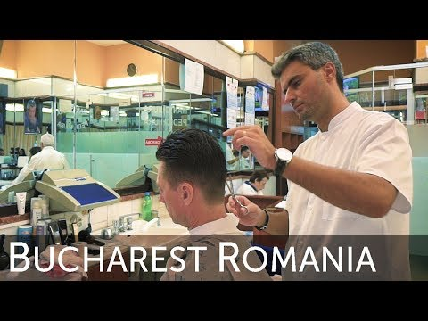 The Romania Frizebad Barbershop Bucharest Haircut Experience