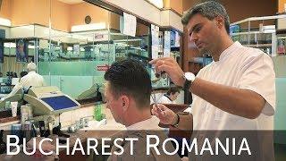 💈 The Romania Frizebad Barbershop Bucharest Haircut Experience