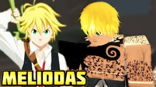 BECOMING MELIODAS VON DER SEVEN DEADLY SINS IN NINDO RPG: BEYOND!! | Roblox