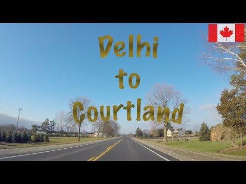 Delhi to Courtland (Ontario)