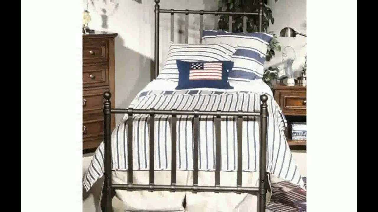 Twin Steel Bed Frame - YouTube