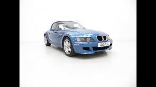 An Electrifying BMW Z3 M Roadster with 52,889 Miles From New - £19,995