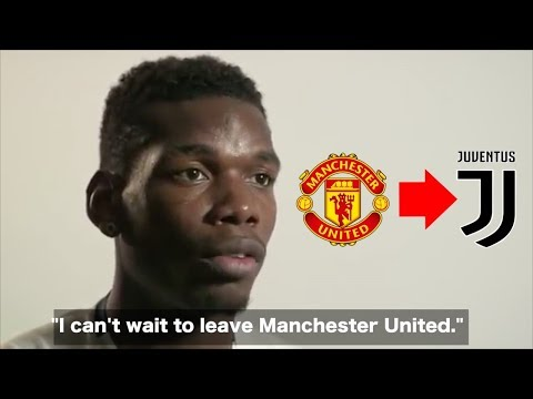 """""""I can't wait to LEAVE Manchester United"""" – Paul Pogba HONEST Interview"""