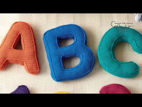 How to Crochet A Pillow: Letter K