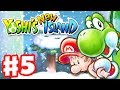 Yoshi's New Island - Gameplay Walkthrough Part 5 - World 5 (Nintendo 3DS)