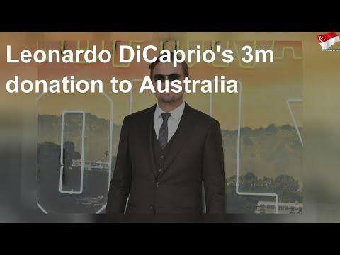 Leonardo DiCaprio's Pledges $4M To Help Australia