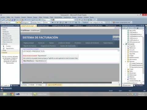 Parte 9 - ASP.NET: Creación de reportes con Reporting Services