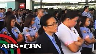 TV Patrol: NAIA screeners, nagpa-misa dahil sa