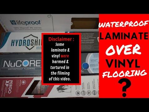 WATERPRROF LAMINATE vs VINYL FLOORING INSTALLATION - IS PERGO A GOOD OPTION OVER LIFEPROOF VINYL ?