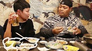 元大関 KONISHIKIとちゃんこ鍋! - VICE Eats With Konishiki