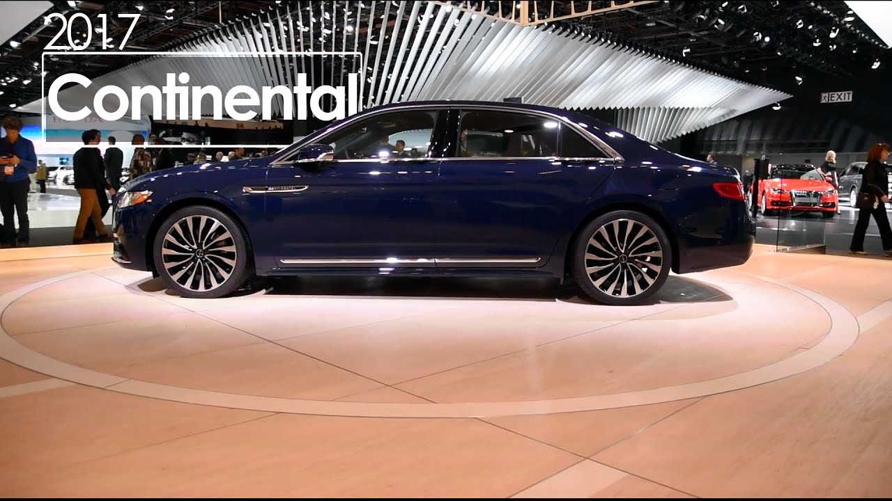 2017 lincoln continental review production ready 2016 naias detroit auto show youtube. Black Bedroom Furniture Sets. Home Design Ideas