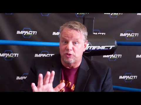 Bruce Prichard Interview at GFW/Impact Wrestling at Universal Studios in Orlando July 2017