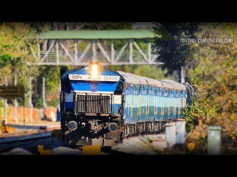 New Train Bangalore - Mangalore Express | EMD Feast |  Indian Railways