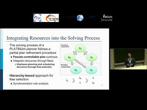 "ICAPS 2018: Alessandro Umbrico on ""Integrating Resource Management and Timeline-Based Planning"""