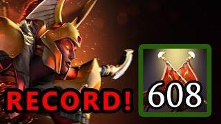 dota 2 jungle legion commander 600 damage record