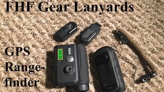 fhf gear lanyard and gps and rangefinder clips