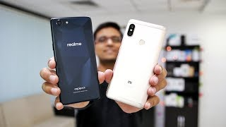OPPO Realme 1 Vs Redmi Note 5 Pro - Who Wins? 🔥🔥