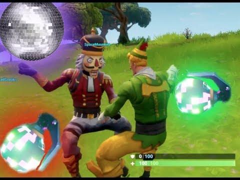 Elf Nutcracker And Boogie Bomb Fortnite Battle Royale Youtube